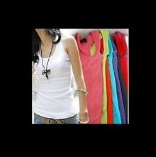 Fashion Women's Ladies Girls O-Neck Cotton Sports T-Shirts, 11 Colors Available