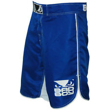 Bad Boy MMA Fight Shorts - Blue/White