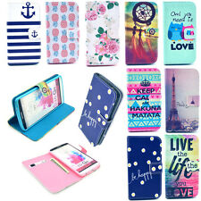 Magnet Leather Card Slot Wallet Flip Case Stand Cover Shell for Smart Cell Phone