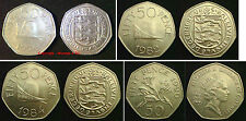 GUERNSEY 50p 50 Pence Coin Hunt. Choose your item Supplied in Coin Wallet