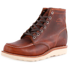 Chippewa 1901M22 Mens Leather Tan Ankle Boots New Shoes All Sizes
