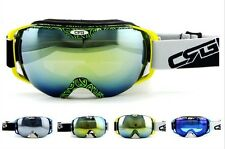 New Professional Ski Goggles Double Anti-fog Glasses 4 Kinds Frame Lens UV400