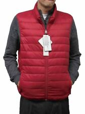 Hawke & Co. Men's Premium Down Packable Vest NWT Red