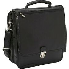 Bellino The Reporter Leather Vertical Case 2 Colors Men's Bag NEW