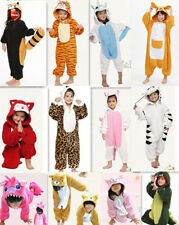 New Pajamas Kigurumi Children's Unisex Cosplay Animal Costume Onesie for Kids