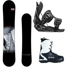 New 2015 Camp7 Valdez + Flow MTN Bindings + APX Boots Men's Snowboard Package
