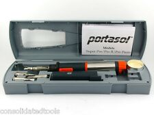Portasol SP-1K SuperPro 125 Gas Soldering Iron Kit  or SP-1 Iron no Case/extras