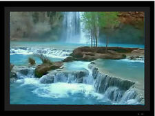 Digital Picture Frame with Nature Videos, Motion Nature Frames