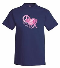 Pink Hope Love Cure T-Shirt,cancer, fight, pink ribbon, tee