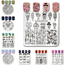 BORN PRETTY Nail Art Stamp Template Image Stamping Plates Manicure 35 Patterns
