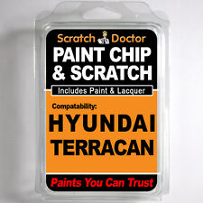 HYUNDAI TERRACAN TOUCH UP PAINT Stone Chip Scratch Repair Kit 2002-2008
