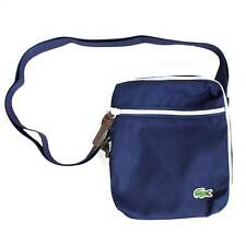 LACOSTE NAVY VERTICAL CAMERA BAG