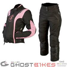 ARMR MOTO JOJO JACKET LADIES KIRA TROUSERS WATERPROOF MOTORCYCLE WOMENS BIKE KIT