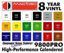 "15"" x 11yd Pick Your Colors 8 Year MacTac Graphic Vinyl Film Signs & Banners"