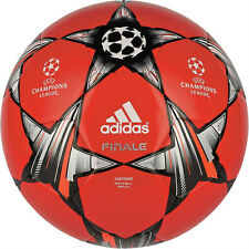 adidas Capitano Finale UCL 2012 - 2013 Soccer BALL Red / Gray / Black Brand New