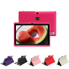"iRulu A23 7"" Android 4.2 8GB Dual Core Dual Cameras WIFI Pink Tablet PC w/ Case"