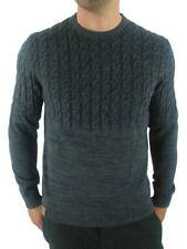 O ' Neill Knitted Jumper Originals Cable Gray Cable Pattern