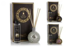 Ashleigh & Burwood Mosaic Glass Reed Diffuser Gift Set Vase Reeds & Fragrance