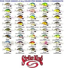 Strike King Crankbaits Series 5 Rattling Deep Dive Pro Model Lure Pick Any Color