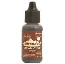 Tim Holtz Ranger Adirondack Alcohol Ink Earthtones Ginger +