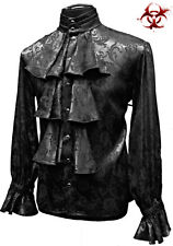 SHRINE LOUIS XIV GOTHIC VAMPIRE DRACULA STEAMPUNK POET PIRAT VICTORIAN SHIRT