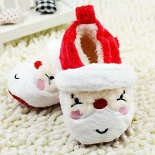 Infant Red White Baby Girl Boy Christmas Shoe .Bootie ..Crib Shoe ..Pre Walker