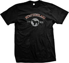 Newfoundland EST 1610 Dog Lovers Pure Bred Puppy Canine Breed Mens T-shirt