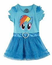 My Little Pony Little Girls' Rainbow Dash Blue Costume Dress FREE SHIPPING