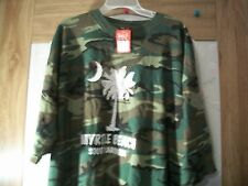 Men's Camouflage Myrtle Beach South Carolina T-Shirts NWT Size 5XL & 2XL