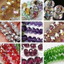 Wholesale 20 Colors New Multicolor Swarovski Crystal Loose Beads 6x8mm / 4x6mm