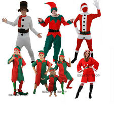 CHRISTMAS COSTUMES VARIOUS MALE FEMALE CHILDRENS CHILD XMAS FANCY DRESS UP SMALL