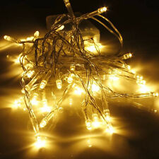 Waterproof Twinkling Lamp Fairy String Lights 20/50/100LED Battery Operated New