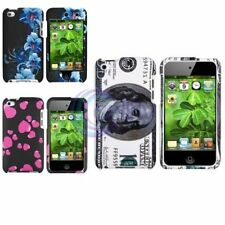 Colorful Clip-on Hard Skin Rubber Cover Case For Apple iPod Touch 4 4th 4G Gen