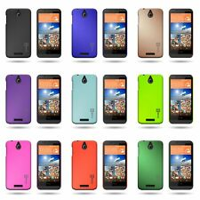 For HTC Desire 510 - Slim Case Back Rubberized Shell Phone Snap-On Cover