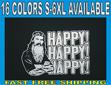 HAPPY HAPPY HAPPY Phil Robertson Hoodie DUCK DYNASTY Duck Commander Size S-5XL