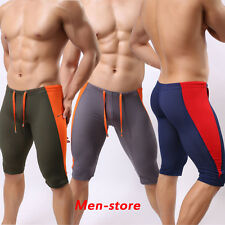 Men Mesh Compression Shorts Runner Athletic Fifth Pants Tights Swimwear Trunks