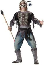 ADULT SPIRIT WARRIOR ZOMBIE INDIAN  COSTUME IC11031