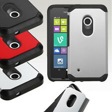 For Nokia Lumia 530 Hybrid ShockProof Protective Hard Case Cover