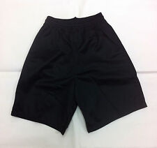 Alleson Youth Mesh shorts - 566PY - Black - size M - NWOT