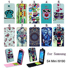 1 Flip Magnetic PU Leather Vertical Case Cover For Samsung Galaxy S4 Mini I9190