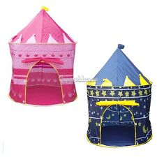 Kids Baby Children Toys Portable Princess Tent/House/Hut Play Games 2Color SH