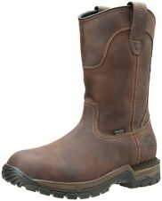 RED WING Mens Irish Setter Pull On Waterproof Work Boots Brown Leather 83907