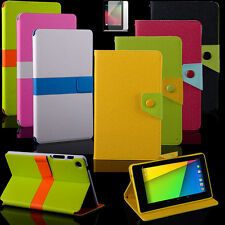 New 2013 Leather Case Cover Stand for Google Asus Nexus 7 2nd Gen Android Tablet