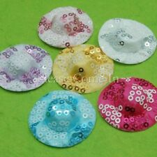 """Mini Sequin Doll Hat Doll Making Supply/Scrapbooking 38mm/ 1-1/2"""""""
