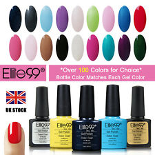 Elite99 7.3ml Soak-off Nail Polish UV LED Top Base Coat Stylish Shellac Gel New