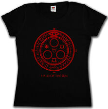 HALO OF THE SUN LOGO GIRLIE SHIRT - Silent Horror Movie Hill Game Pentagram Girl