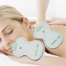 New 10 20 Digital Therapy Massager Electrode Massage Pads Tens Acupuncture Gift
