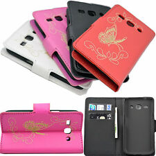 Flip PU Leather Card Wallet Cover Case For Samsung Galaxy Star Advance SM G350E
