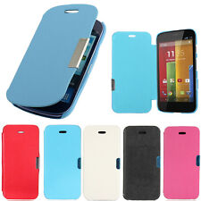 New Folio Flip PU Leather Phone Magnetic Case Cover For Samsung HTC Moto Nokia