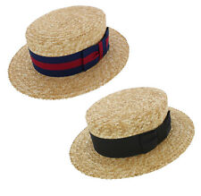 Olney Traditional straw boater hat (SM6)
